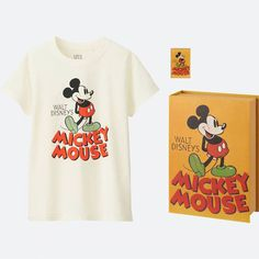 We're obsessed with these eight tees from the UNIQLO Disney Poster Art collection. Each one comes with a matching book box and pin!