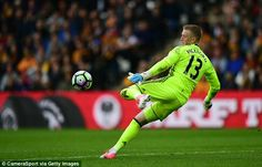 Jordan Pickford would be better served staying in the Championship with Sunderland Jamie Redknapp, Pep Guardiola, The Championship, Sunderland, Goalkeeper, Manchester City, Football Players, Premier League, Soccer