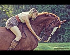 A Girl and Her Horse III by *PaytonAdams1 on deviantART