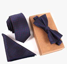 3 PCS Men Bow Tie and Handkerchief Set Bowtie Slim Necktie Cravat Homme Man♦️ B E S T Online Marketplace - SaleVenue ♦️👉🏿 http://www.salevenue.co.uk/products/3-pcs-men-bow-tie-and-handkerchief-set-bowtie-slim-necktie-cravat-homme-man/ US $6.39