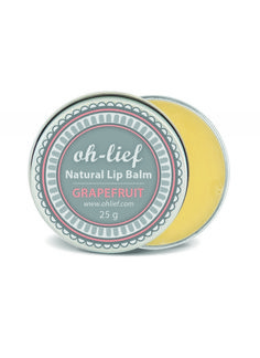 ORGANICA HOT DEALS - GET 10% OFF | Oh-Lief Natural Olive Lip Balm Grapefruit | Organica