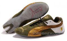 http://www.jordannew.com/mens-puma-ferrari-in-green-golden-white-discount.html MEN'S PUMA FERRARI IN GREEN/GOLDEN/WHITE DISCOUNT Only $88.00 , Free Shipping!