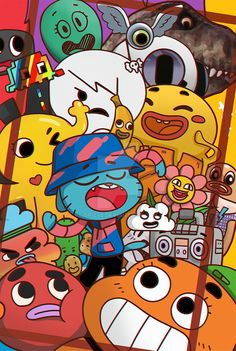 The Amazing World of Gumball by on DeviantArt Graffiti Wallpaper, Cartoon Wallpaper Iphone, Cute Cartoon Wallpapers, Aesthetic Iphone Wallpaper, Disney Wallpaper, Galaxy Wallpaper, Wallpaper Doodle, Wallpapers Android, Doodle Art Drawing