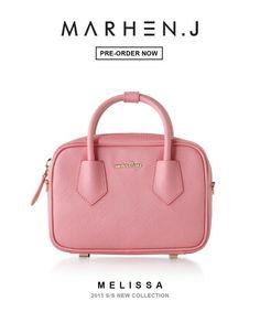 MARHEN.J MINI CROSSBODY BAG 'MELISSA'  www.marhenj.com  #marhenj #marhen #bag #shopping #tote #fashion #minibag #crossbody #pink
