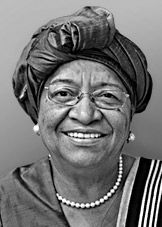 Ellen Johnson Sirleaf, President of Liberia, Nobel Peace Prize 2011 (for non-violent struggle for the safety of women and for women's rights to full participation in peace-building work) Women In History, Black History, Great Women, Amazing Women, Ellen Johnson Sirleaf, Nobel Peace Prize, Nobel Prize, Brave, World History