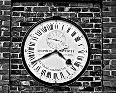 'London GMT Clock' by Claire Doherty on artflakes.com as poster or art print $20.79