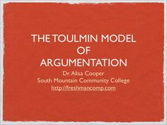 What argument model should I use: Toulmin Model or Delayed Thesis?