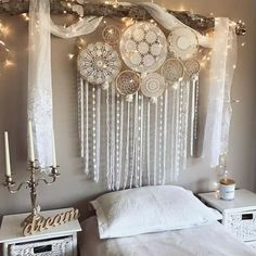 hippie room decor 733523858047142176 - Hippy Room 612630355547558138 – Fox teen room idea – ZN Coaching – # Idea … Teen fox bedroom idea – ZN Coaching – Source by Dream Catcher Decor, Dream Catcher Bedroom, Lace Dream Catchers, Beautiful Dream Catchers, Dream Catcher Boho, Bedroom Decor, Wall Decor, Decor Room, Hang From Ceiling Decor