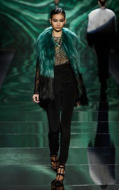 NY Fashion Week- top trends for Fall 2013: Colored Fur: In general, fur made an especially strong showing on Fall runways in all forms, but it was the use of colors that caught our eye.