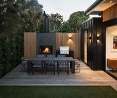 This Grey Lynn villa has the perfect set up for a Saturday afternoon. We're loving the timber screen and black cladding.  Simon Devitt