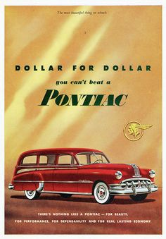 1950 Pontiac Chieftain Station Wagon