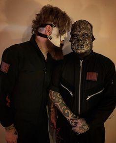 Jim Root and Alex V-Man Venturella Nu Metal, Black Metal, Iowa, All Hope Is Gone, Slipknot Corey Taylor, Craig Jones, Sid Wilson, Heavy Metal Bands, Metalhead