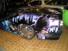 car airbrushed