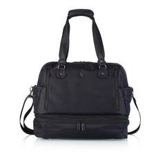Heys Travel Tote HiLite Family & Fitness Duffle Diaper Baby Bag Black