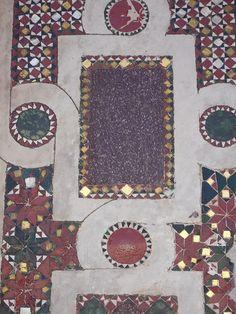 Mosaico cosmatesco (1210) Cattedrale di Civita Castellana, Viterbo