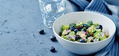 Have dinner ready in under 10 minutes when you make this creamy, decadent raw vegan broccoli salad that boasts refreshing, tart flavors. Vegan Broccoli Salad, Broccoli Stems, Raw Broccoli, Raw Vegan Recipes, Vegan Vegetarian, Slaw Recipes, Apple Salad, Apple Crisp, Greek Yogurt