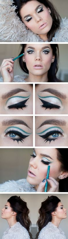 59 Super Ideas vintage makeup eyeliner linda hallberg 59 Super Ideas vintage makeup eyeliner linda h Love Makeup, Makeup Inspo, Makeup Art, Makeup Inspiration, Hair Makeup, Makeup Ideas, Makeup Blog, Gorgeous Makeup, Makeup Geek