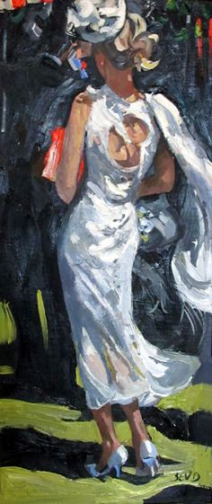 Southern Belle - at the Derby -  - Sherree Valentine Daines