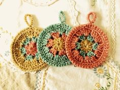 Maize Hutton: Woolly Granny Ornaments
