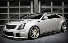 Cadillac CTS-V Coupe with  Hennessey V1000 Twin-Turbo
