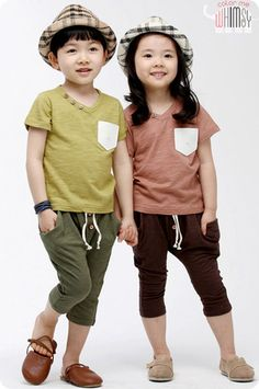 Pocket Tee Set for boys and girls aged 2-8. Play ready kids fashion at Color Me WHIMSY.