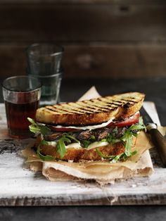 Grilled Sandwich - William Meppem for Gourmet Traveller