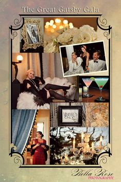 The Great Gatsby Gala looked amazing! I love vintage parties!