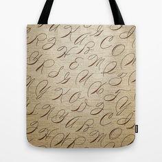 Calligraphitis Tote Bag