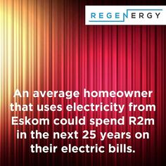 An average homeowner that uses electricity from could spend in the next 25 years on their electric bills. Stop renting electricity. Go solar. Sustainable Energy, Renting, The Next, Renewable Energy, Solar Power, Saving Money, Electric, Facts, Instagram