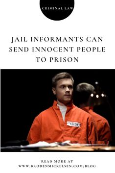 "Sometimes colloquially referred to as a ""snitch,"" a jailhouse informant is an incarcerated person who trades information or knowledge about a crime for some type of benefit. Innocent People, Criminal Law, Snitch, Prison, Crime, Canning, Crime Comics, Home Canning, Conservation"