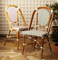 Delightful Nice And New: Pottery Barn Woven Cafe Chair