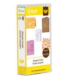 Cricut Project Cartridge, Simple Cards, , hi-res