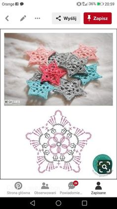 No 7 large snowflake lace crochet motifs salvabrani Lovely crocheted flower on a japanese site salvabrani – Artofit Сhristmas snowflakes crochet snowflakes set of 6 Xmas di N crochet patterns in thread - Salvabrani Crochet Snowflake Pattern, Crochet Stars, Christmas Crochet Patterns, Crochet Motifs, Crochet Snowflakes, Crochet Flower Patterns, Crochet Diagram, Crochet Stitches Patterns, Thread Crochet
