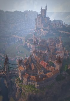 Advanced city Many families love Minecraft because of several basic things, ownership, replayability as well Casa Medieval Minecraft, Minecraft Plans, Minecraft City, Minecraft Construction, Minecraft Blueprints, Cool Minecraft Houses, Minecraft Designs, Minecraft Creations, Minecraft Buildings