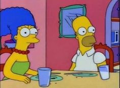 The Simpsons Picture Collection 2 oniemaru Simpsons Meme, The Simpsons, Simpsons Frases, Lisa Simpson, Love Images, Funny Images, Los Simsons, Homer And Marge, Funny Memes