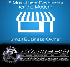 Call us toda for help with your business...KAUFF'S WEB