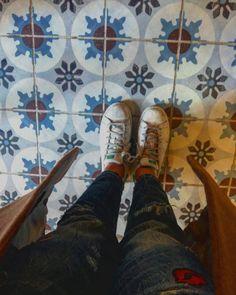 Matching pants & tiles