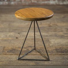 This beautiful geometric side table has been handcrafted in London by Biggs and Quail, the design duo who lovingly make modern furniture using traditional techniques. This gorgeous table is made of solid Iroko. It can double up as a stool and is perfect for compact living spaces. You can snap one up from Clippings.com