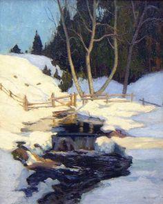 Maurice CULLEN - La fonte des neiges (c. 1930)