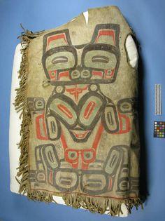 shirt, Tlingit, NMNH pre 1888