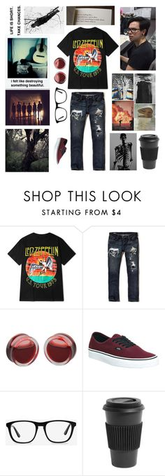 """Ellie's Horror Film Challenge"" by bookluv-1 ❤ liked on Polyvore featuring Tremp, Hollister Co., Vans, Ace, Polaroid, Homage, men's fashion, menswear and elliewrhorrorfilmchallenge"