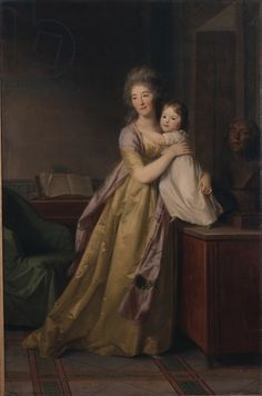 Johann Tischbein	 - Cornelia Adrienne Grafin Bose	 - Germanisches Nationalmuseum, Nuremberg, Germany