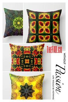 İpek Yastık/Throw Pillows by TheFAD.co