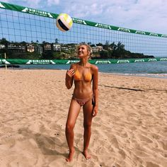 """Gabrielle Grace Epstein on Instagram: """"When you really want to be good at beach volleyball but your hand-eye coordination is below average... @kauaimarriott #kauaimarriott"""""""