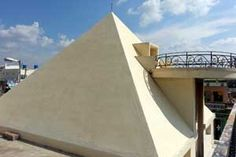 Brahmarshi Patriji Pyramid Meditation Center year of construction : 2006 size : 13ft x 13ft (roof top) | capapcity : 30 persons  type of structure : RCC timing : 24x7, open for public use contact : D Sateesh Kumar, mobile : +91 98480 47427 address : IOC Petrol bunk office, SN colony, Rayachoti http://pyramidseverywhere.org/pyramids-directory/pyramids-in-andhra-pradesh/rayalaseema/kadapa-district