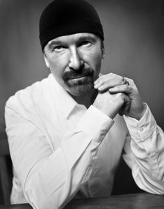 The Edge by Vincent Peters  #u2newsactualite #u2newsactualitepinterest #bono #theedge #larrymullen #adamclayton #u2 #music #rock #paulhewson #vincentperters   http://vincentpetersphotography.com