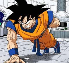 Goku Working Out Dragon Ball Z, Dragon Ball Image, Dbz Manga, Manga Dragon, Akira, Goku Training, Anime Echii, D Mark, Animation