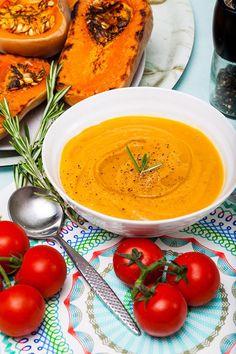 Hemsley & Hemsley: Roasted Butternut & Tomato Soup With Rosemary (Vogue.com UK)