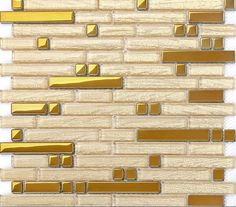 Wholesale Metal with base Backsplash Tiles 04 Stainless Steel Sheet Metal and Crystal Glass Blend Mosaic Wall B902 | Hominter.com