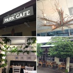 Serving breakfast, lunch, and dinner, the Park Cafe sits adjacent to Hampton Park.